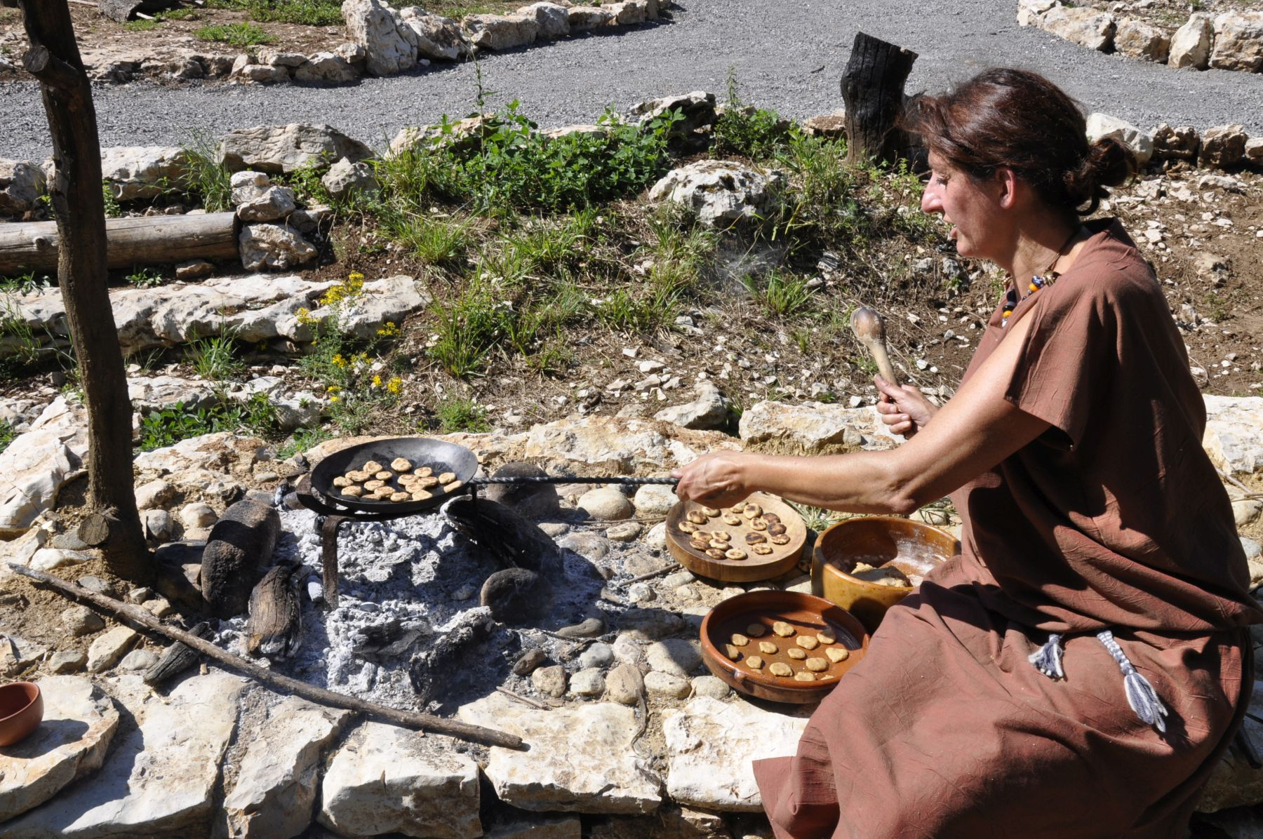 Randa Ardesca Archéosite d'Ardèche - Cuisine gauloise