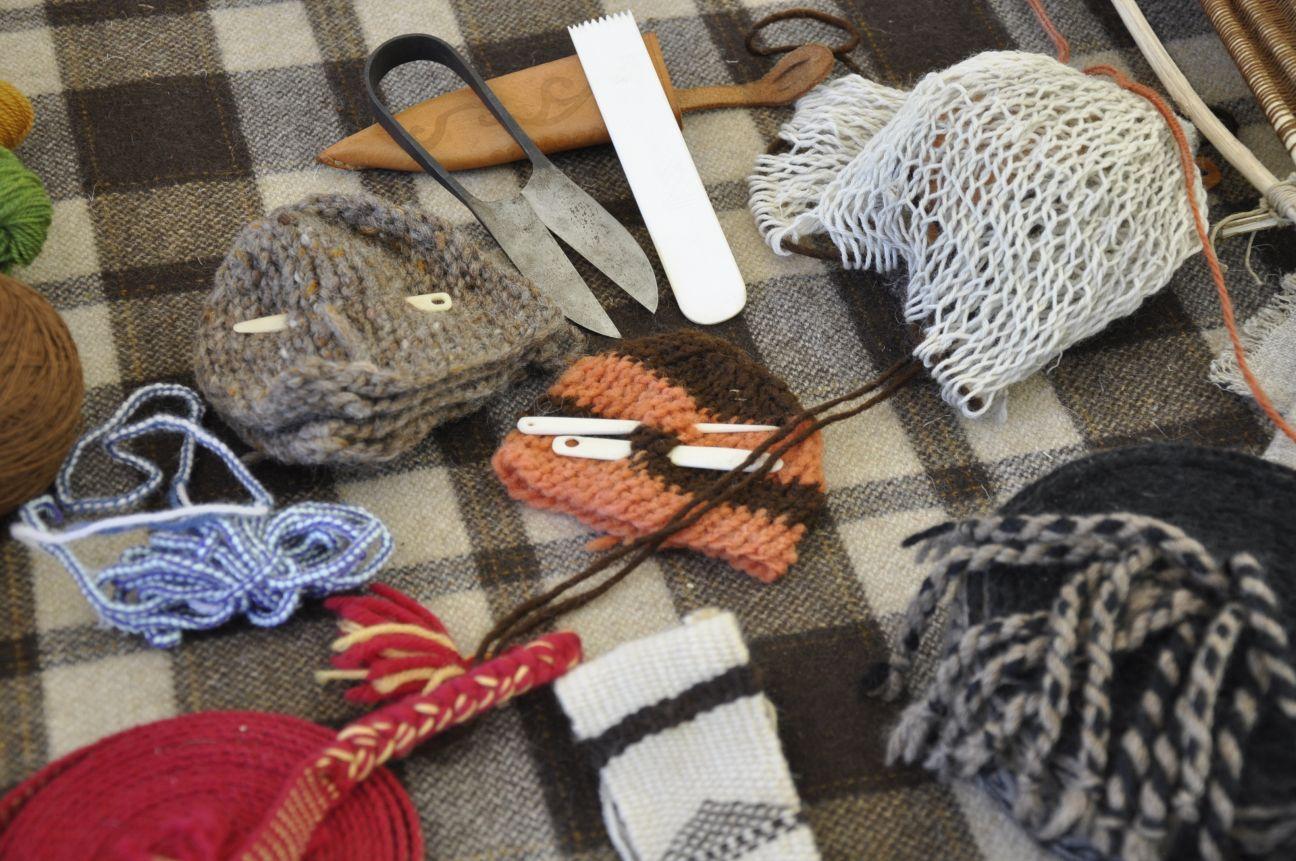 Randa Ardesca Archéosite d'Ardèche - Outils pour le textile
