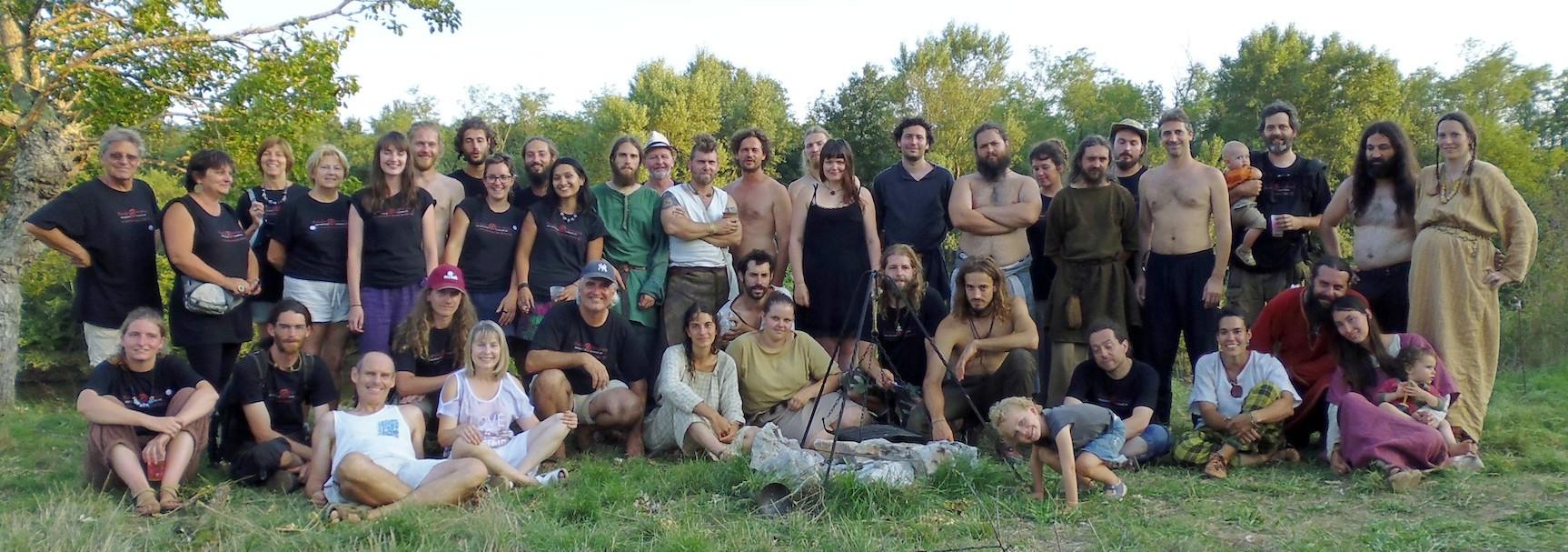Randa Ardesca Archéosite d'Ardèche - L'association Helviorum en 2013