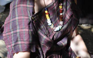 Randa Ardesca Archéosite d'Ardèche - Collier de perles en verre