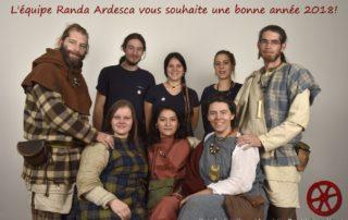 Randa Ardesca Archéosite d'Ardèche - Bonne année 2018 !